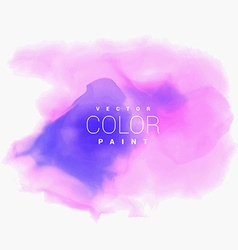 colorful water color stain ink background vector image vector image