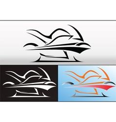 Motorbike logo design 2 vector