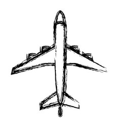 Airplane icon imag vector