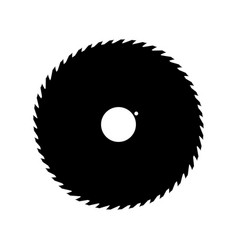 saw blade vector free download. circular saw blade black color icon vector image free download a