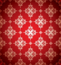 floral wallpaer vector image vector image