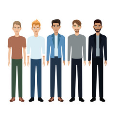 Group people man community vector