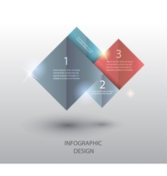 template for presentation vector image vector image