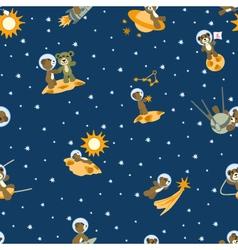 Bears-spacemen vector