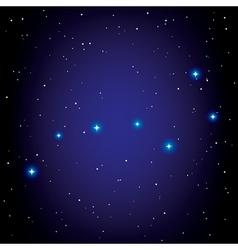 Big Dipper vector image