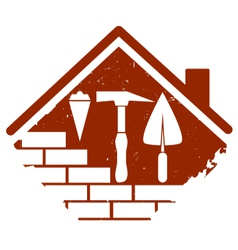construction symbol vector image