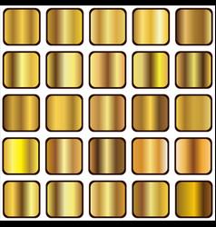 golden gradient vector image vector image