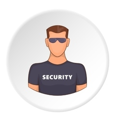 Security icon flat style vector