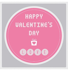 Happy valentine s day card17 vector