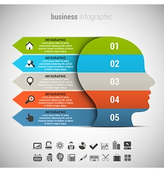 Business infographic vector