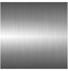 Metallic polished background vector
