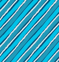 Blue diagonal lines with white chalk vector