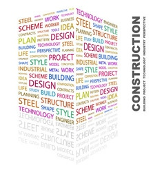 CONSTRUCTION vector image