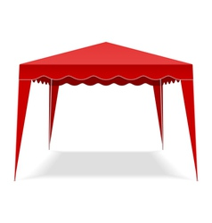 Pop Up Gazebo vector image vector image