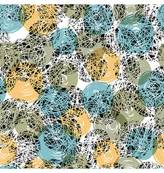seamless pattern abstract vector image vector image