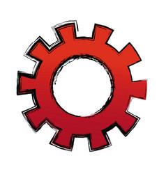 Gears teamwork cooperation concept abstract design vector