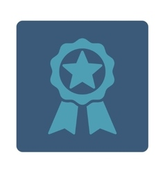 Award icon from award buttons overcolor set vector