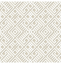 Seamless geometric pattern background in paper vector