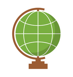 Geography tool icon vector