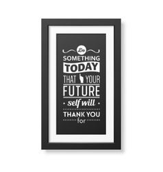Quote typographical Background in the realistic vector image