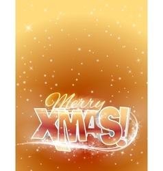 Text merry xmas vector