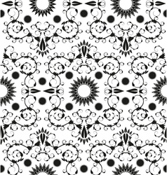 Baroque seamless geometric ornament vector image vector image