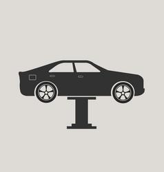 car maintenance icon vector image