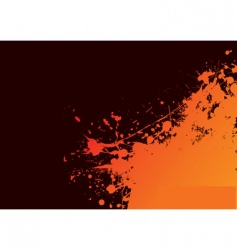 grunge sun vector image vector image