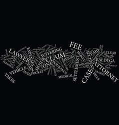 Lawyers and their fees text background word cloud vector