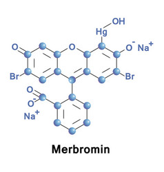 Merbromin is a topical antiseptic vector