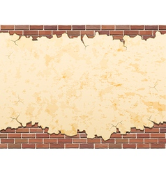 Concrete and brick background vector