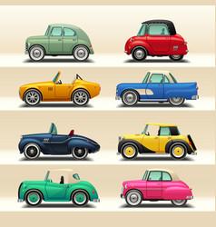 Car icon set-6 vector