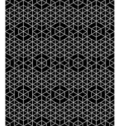 Regular contrast textured endless pattern with vector