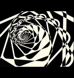 Abstract duotone dark twirl background vector
