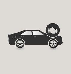 car check icon vector image