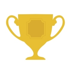 Cup trophy engraving icon graphic vector