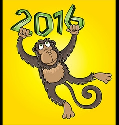 Monkey design frame graphic vector image