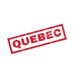 Quebec rubber stamp vector