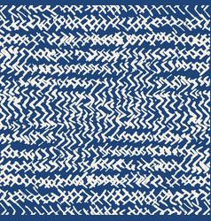 Tie dye indigo seamless pattern vector