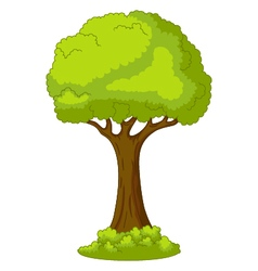 Tree for you design vector