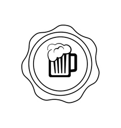 Beer and brewery concept vector