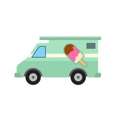 icecream van vector image
