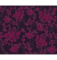 Flower texture pattern vector image vector image