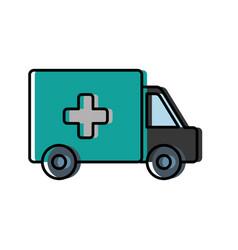 Ambulance icon imag vector
