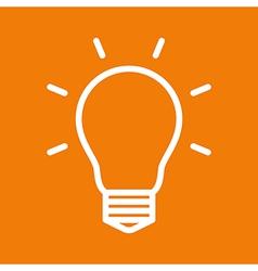 Bulb symbol vector