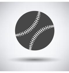 Baseball ball icon vector