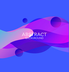 Abstract 3d colorful gradient drop liquid vector