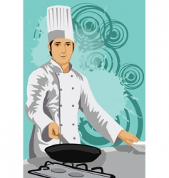 best chef vector image vector image