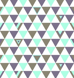 Canada Top Colors Background Triangle Polygon vector image vector image