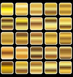 golden gradient vector image